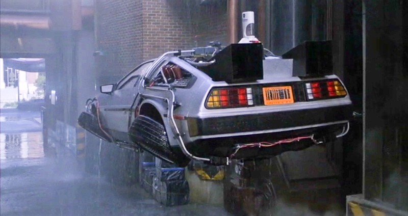 Back to the Future DeLorean Image