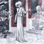 Jill Thompson The Sandman movie pitch production art