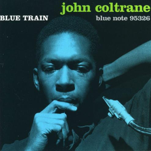 John Coltrane Blue Train Cover