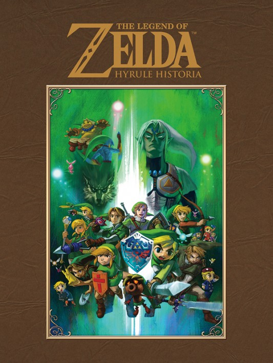Legend of Zelda: Hyrule Historia full cover