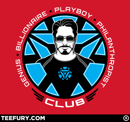 Iron Man The G.B.P.P. Club Shirt