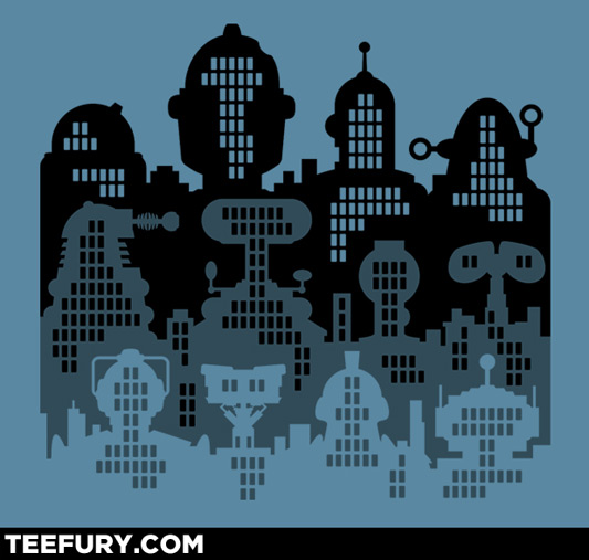 Robot City Shirt