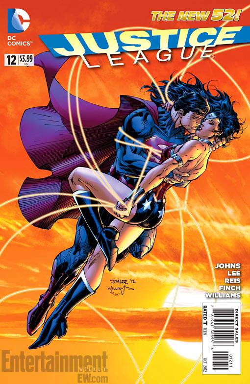 Justice League #12 Superman and Wonder Woman