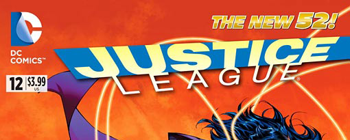 Justice League #12 banner