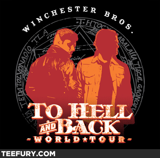 Supernatural Hell & Back World Tour Shirt
