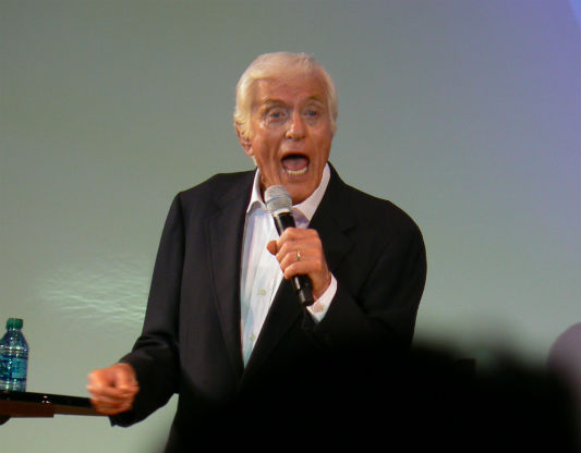 Dick Van Dyke singing