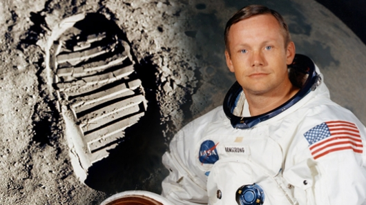 Astronaut Neil Armstrong, the First Man to Walk on the Moon