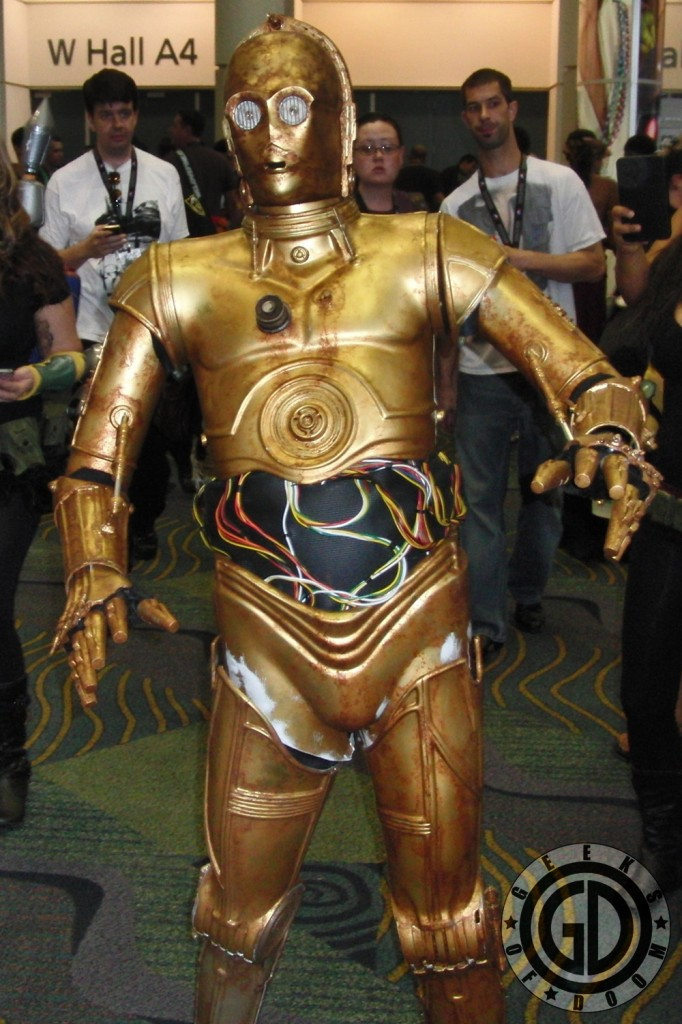Star Wars Celebration VI 2012: C-3PO