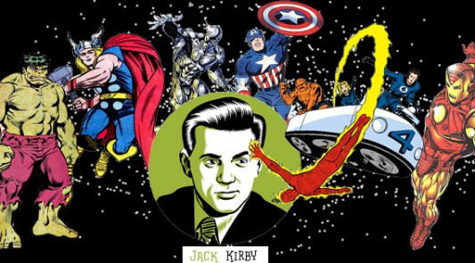 Jack Kirby Collage