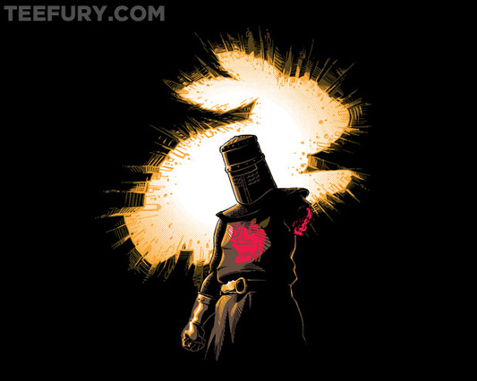 Monty Python The Dark Knight Rises The Black Knight Rises Shirt