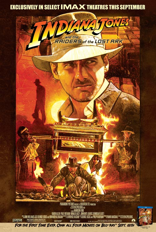 Indiana Jones Raiders of the Lost Ark IMAX Poster