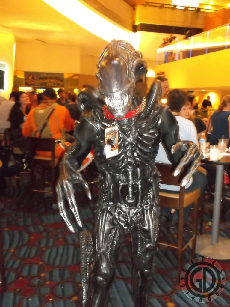 Dragon*Con 2012: Cosplay: Xenomorph