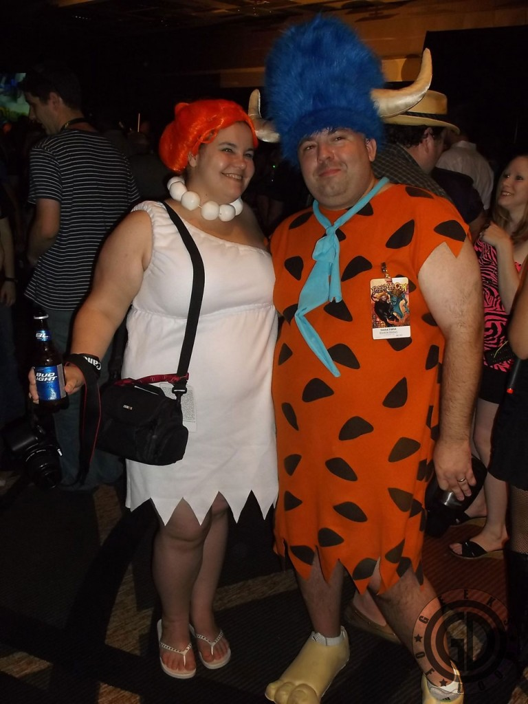 Dragon*Con 2012: Cosplay: Fred Flintstones and Wilma Flintstones