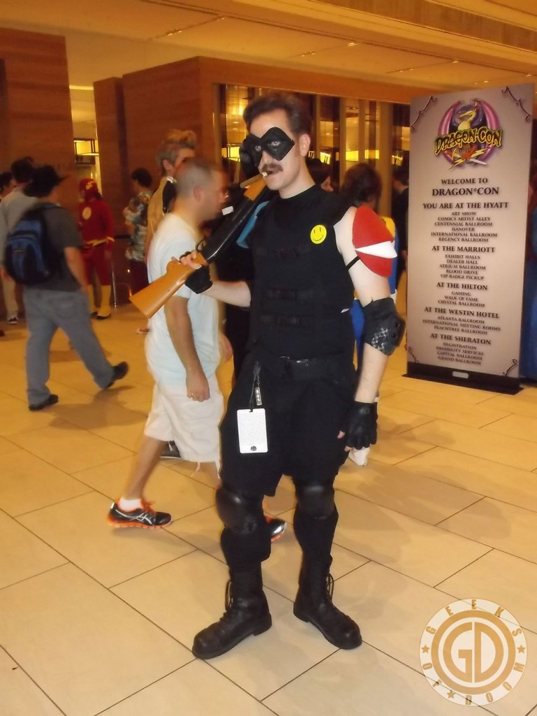 Dragon*Con 2012: Cosplay: Watchmen The Comedian