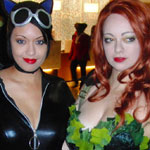 Dragon*Con 2012: Cosplay: Catwoman and Poison Ivy