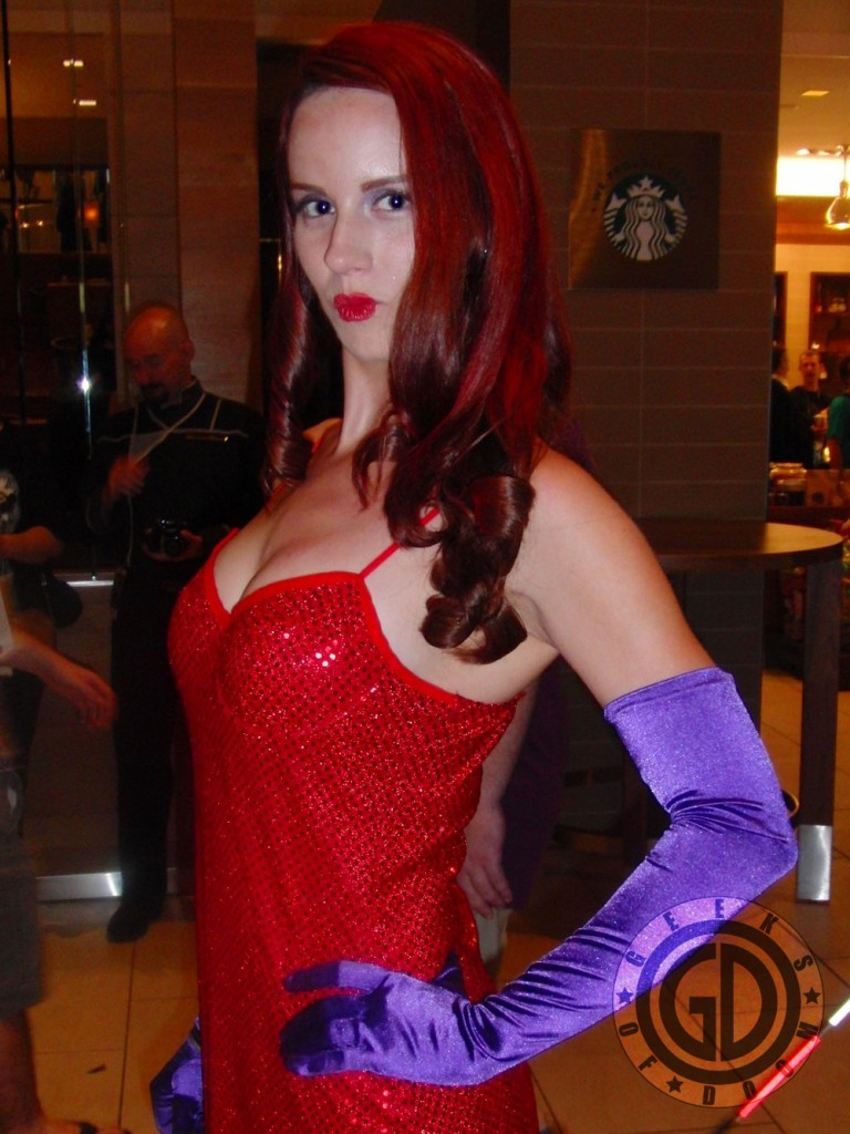 Dragon*Con 2012: Cosplay: Jessica Rabbit