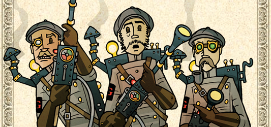 Steampunk Ghost-Busters