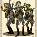 Ghostbusters Steampunk 01