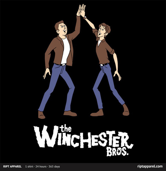 Venture Brothers Supernatural Winchester Brothers Shirt