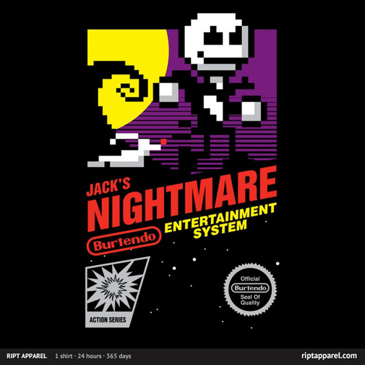 The Nightmare Before Christmas Jack's Nightmare Shirt