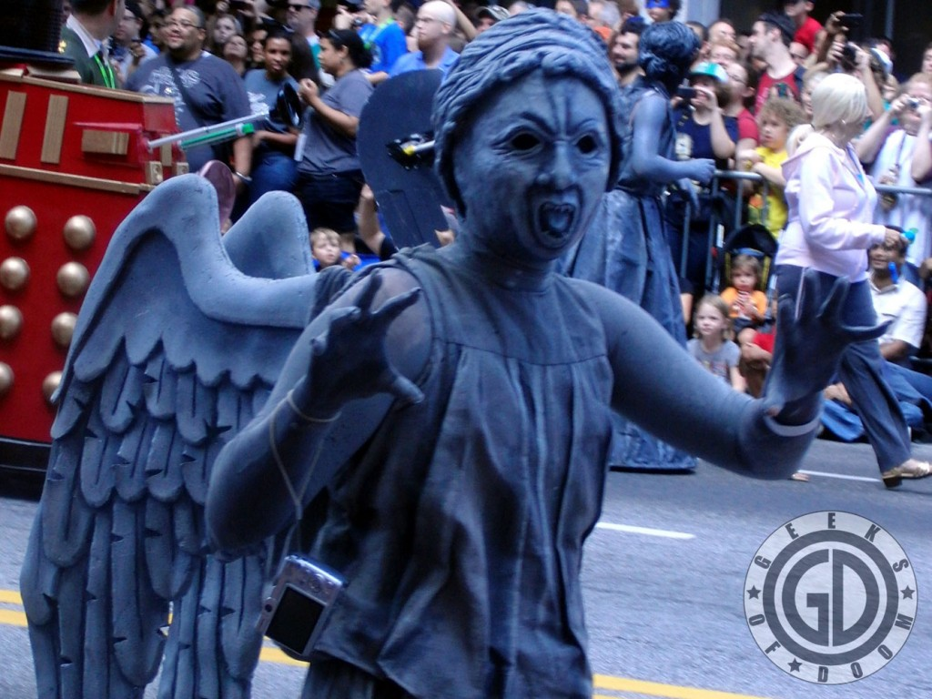 Dragon*Con 2012: Cosplay: Doctor Who Weeping Angel: Dont Blink