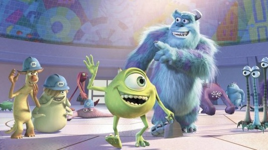 Monsters Inc. 3D Header