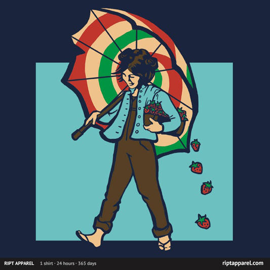 Firefly Strawberry Girl Shirt
