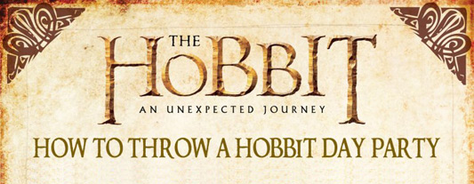 The Hobbit: An Unexpected Journey Hobbit Party banner