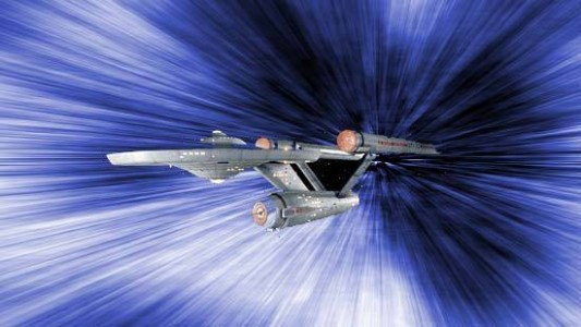 Star Trek Warp Drive Image