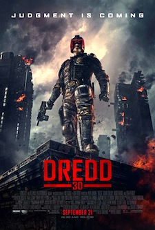 DREDD 3D Poster