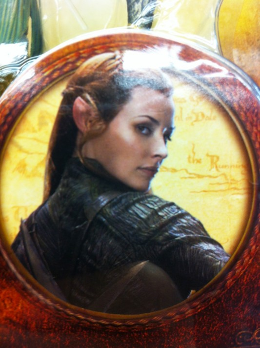 Evangeline Lilly in The Hobbit Image