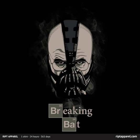 Breaking Bad Batman Breaking Bat