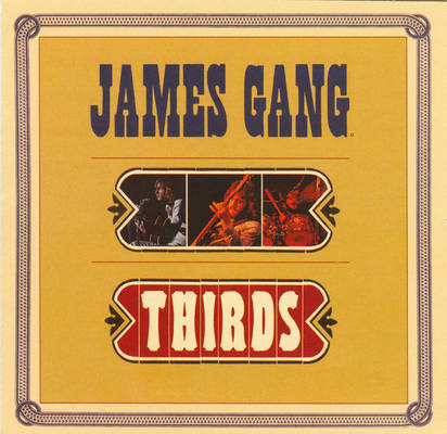 James Gang Thirds Album Cover