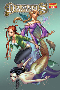 Damsels #1 cover