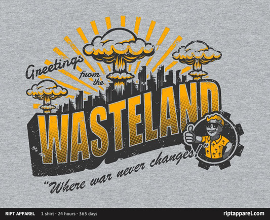 Fallout Greetings from the Wasteland! Shirt