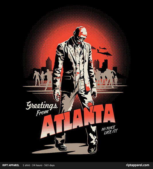 The Walking Dead Atlanta Shirt