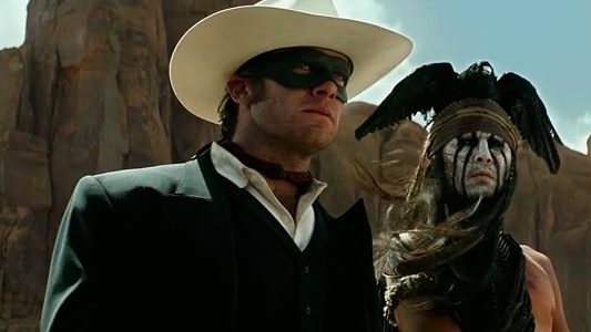 The Lone Ranger Header