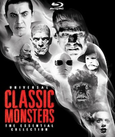 Universal Classic Monsters Blu-Ray Set