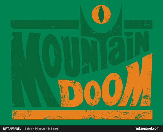 Lord Of The Rings Taste the Doom Shirt