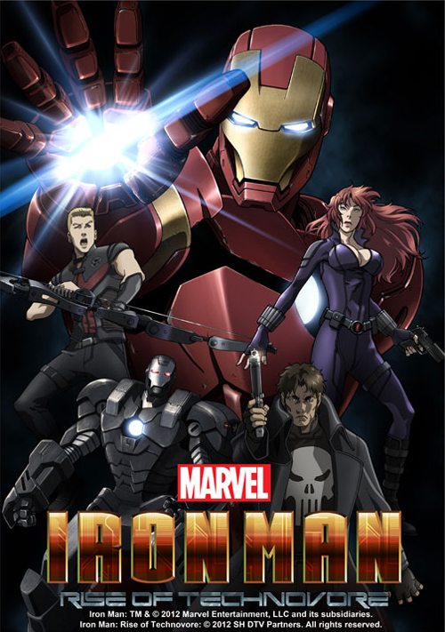 Iron Man Anime Poster