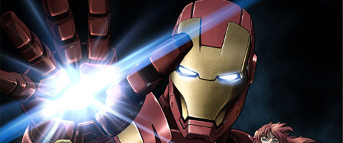 Iron Man Anime Banner