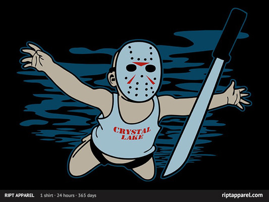 Friday The 13th Jason&#039;s Nirvana Shirt