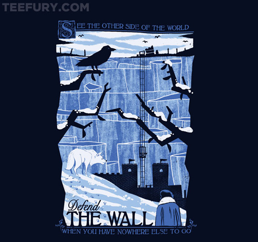 Game Of Thrones The Wall Shirt