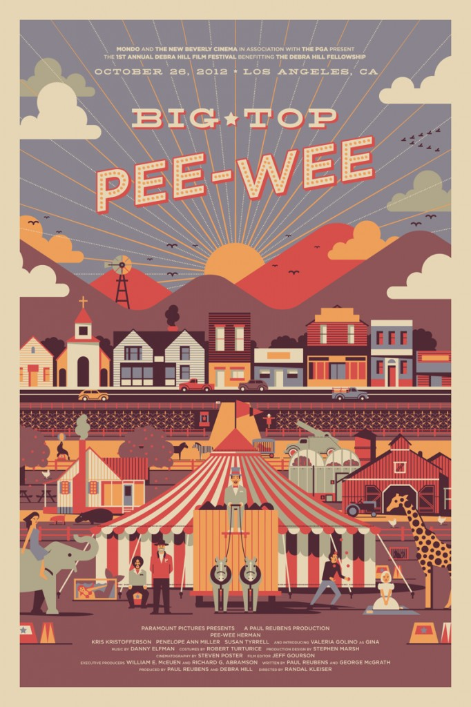 Big Top Pee-Wee Mondo Variant