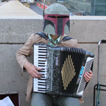 NYCC 2012: Renegade Accordion: Boba Fett