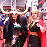 NYCC 2012: Loki and Thor crossplay