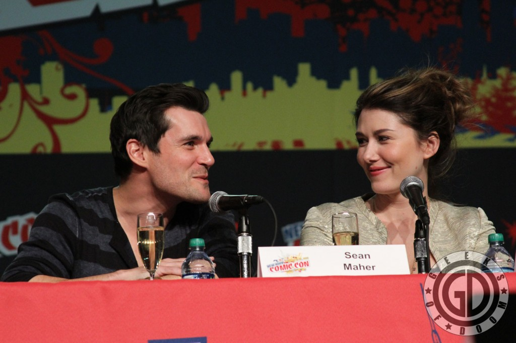 NYCC 2012: Firefly 10th Anniversary panel: Sean Maher and Jewel Staite