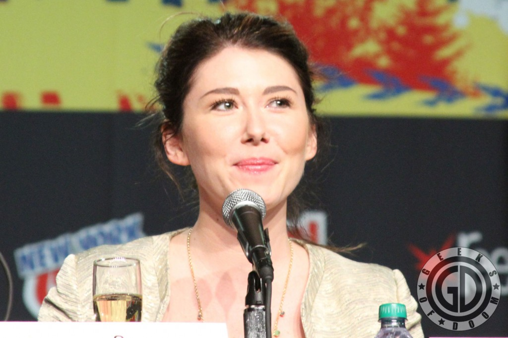 NYCC 2012: Firefly 10th Anniversary panel: Jewel Staite