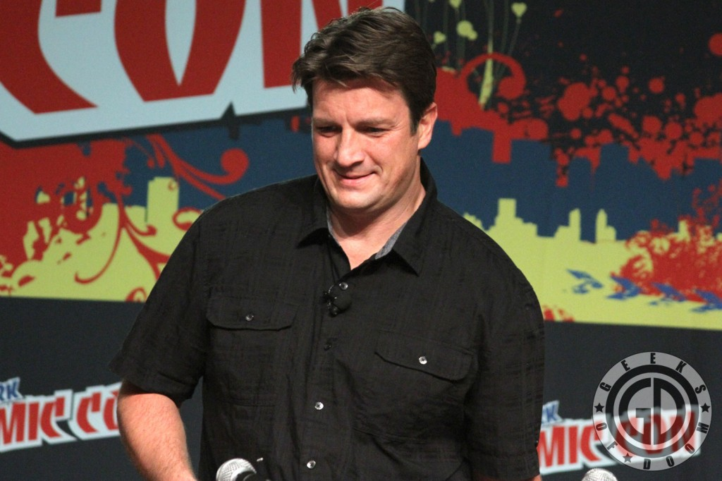 NYCC 2012: Firefly 10th Anniversary panel: Nathan Fillion