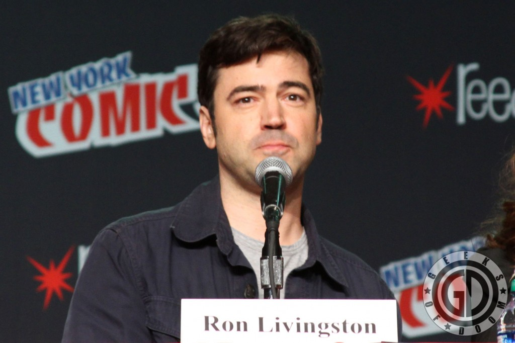 NYCC 2012: The Conjuring panel: Ron Livingston